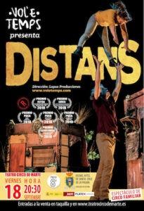 "Aufführung ""Distans"" im Teatro Circo de Marte"
