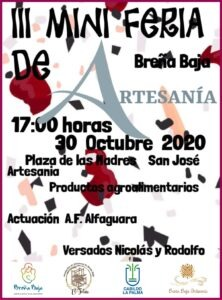 III Mini Feria Artesania in Breña Baja