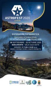 """Ausstellung """"Astrografía"""" in Barlovento"""