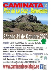 Wanderun Pico de la Cruz - Barlovento