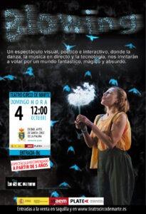 """Familienshow """"Blowing"""" im Teatro Cinco de Marte"""