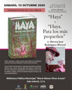 """Buchpräsentation """"HAYA"""" von Héctor José Rodríguez Riverol"""