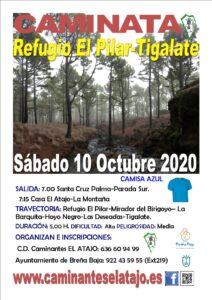 Wanderung Regugio El Pilar - Tigalate