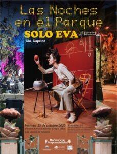 """""""Solo Eva"""" im Parque Antonio Gómez Felipe"""