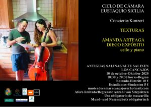 """Zweites Konzert """"Sexta Edición del Ciclo de Cámara """"Eustaquio Sicilia"""""""