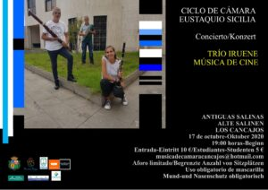 """Drittes Konzert """"Sexta Edición del Ciclo de Cámara """"Eustaquio Sicilia"""""""