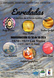 Dritte Ausgabe Textilkunstausstellung in Las Tricias