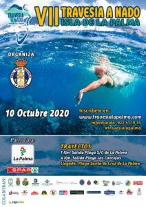 VI edición de TRAVESÍA a NADO - Schwimmwettbewerb der Insel La Palma