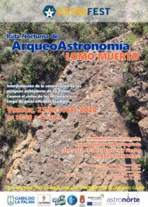 """Wanderung """"Ruta Nocturna de Arqueo Astronomía Lomo Muerto"""""""