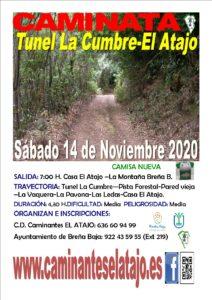 Wanderung Tunel La Cumbre – El Atajo