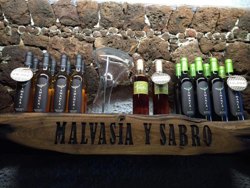 Bodegas Tamanca – Malvasía und Sabro - Vinos de La Palma