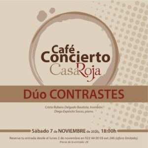 "Konzert ""Dúo Contrastes"" im La Casa Roja"