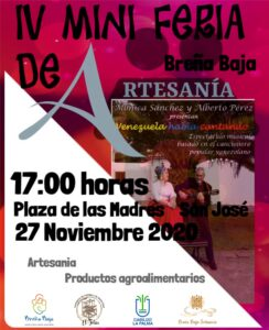 IV Mini Feria Artesania in Breña Baja