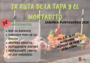 IX RUTA DE LA TAPA Y EL MONTADITO