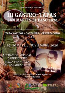 III Gastro-Tapas San Martín El Paso 2020