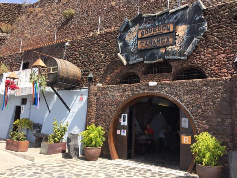 Restaurante Bodegón Tamanca, Isla de La Palma: Gastronomía típica canaria