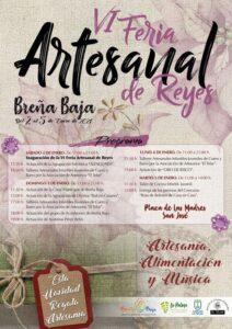 VI Feria Artesanal de Reyes in Breña Baja