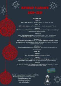 Weihnachtsprogramm der Gemeinde Tijarafe