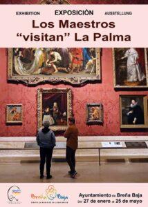 """Ausstellung """"LOS MAESTROS visitan La Palma"""""""