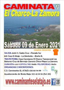 Wanderung El Charco – La Zamora