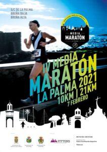 """IV MEDIA MARATON """"La Palma 2021"""""""