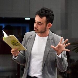 """Lesung """"Nombrarse Volcán"""" mit Rodrigo García Marina"""