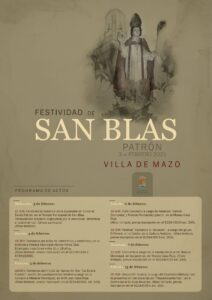 Festividad de San Blas Patrón in Mazo