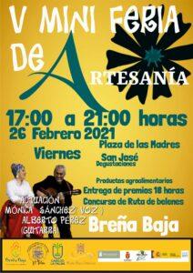V Mini Feria Artesania in Breña Baja