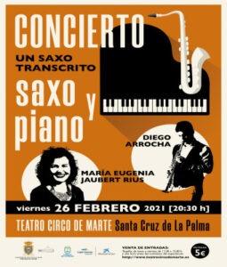 Konzert mit Diego Arrocha und Maria Eugenia Jaubert Rius