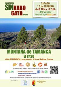 Freiwilligenaktion zur Entfernung des Rabogato Montaña deTamanca El Paso