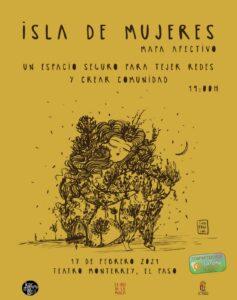 "Workshop ""Isla de Mujeres"", mapa afectivo"