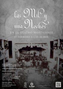 Las Mil y una Noches im Teatro Monterrey in El Paso