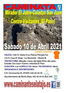 Wanderung Mirador El Jable – Coladas San Juan