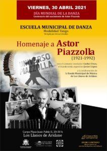 DÍA MUNDIAL DE LA DANZA zum 100. Geburtstag von Astor Piazzolla