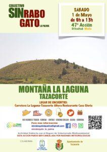 Freiwilligenaktion zur Entfernung des Rabogato in Montaña La Laguna Tazacorte