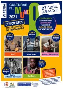 VI Feria de las Culturas del Mundo en Puntagorda