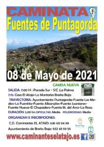 Wanderung Fuentes de Puntagorda