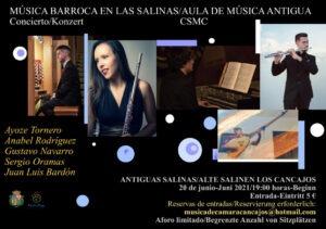 Konzert 'Música Barroca en Las Salinas'