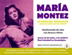 Konferenz: 'Maria Montez, la reina del tecnicolor'