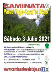 """Wanderung Pared Vieja-Casa """"el Atajo"""""""