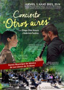 Konzert Con Diego Díaz Koury y Gabriela Suárez