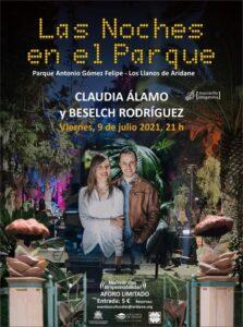 Las Noches en el Parque mit Claudia Álamo und Beselch Rodríguez