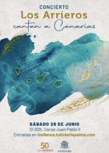 Konzert 'Los Arrieros cantan a Canarias'