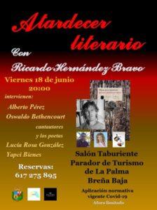 Lesung 'Atardecer Literario'