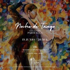 Tango im Hotel Hacienda de Abajo