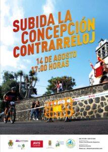 """Vertikallauf """"Subida La Concepción Contrarreloj"""" in Breña Alta"""