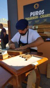 Zigarrenherstellung in der Relojeria/ Tabaqueria in Los Llanos