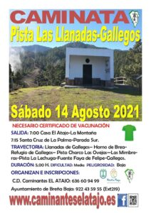 Wanderung Pista Las Llanadas-Gallegos