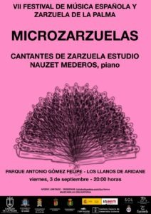 "Konzert ""VII Festival de Música Española y Zarzuela de La Palma"""