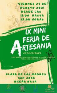 IX Mini Feria de Artesanía